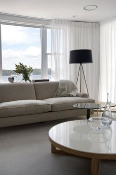 HabitatMY - Contemporary apartment design by CO-AP Architects Zeitgenössisches Apartment, Apartment Interior Design, Apartment Projects, Condo Living, Living Room Remodel, Living Rooms, Monochromatic Living Room, Tiny Furniture, Appartement Design