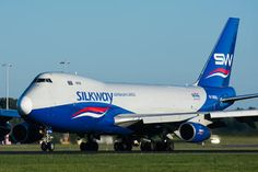 - Silk Way Airlines Boeing ERF photo views) Cargo Aircraft, Military Aircraft, Commercial Plane, Commercial Aircraft, 747 Jumbo Jet, Private Plane, Cargo Airlines, Thing 1, British Airways