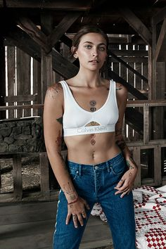 OUR MOMENT. #MYCALVINS. Paris Jackson finds her light. A new addition to the CALVIN KLEIN family, she is shot by Willy Vanderperre. We've shown you our family, now show us yours using #MYCALVINS.