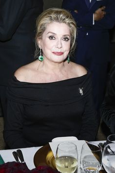 Catherine Deneuve looking stunning at last week's Beaux-Arts gala