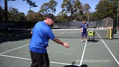 Tennis Tips from Brian Kiggans at Palmetto Dunes  - How to hit a forehand