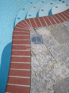 paver around pool - google search   back yard pool   pinterest