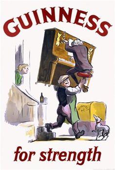 Guinness for strength - 1950 -