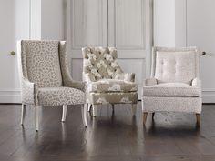 Mamie Chair, Hollans Tufted Chair
