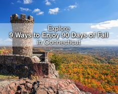 Did you know that Connecticut has the longest fall foliage season? Make the most of the season with these 9 classic fall experiences. #FindFallFaster