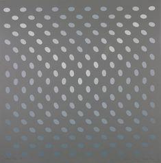 Bridget Riley, A - From Nineteen Greys (1968), at the Tate