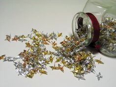 Gold and Silver Origami Cranes by Paper-Peaches on deviantART
