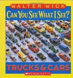 xCan You See What I See?: Trucks and Cars: Picture Puzzles to Search and Solve by Walter Wick http://www.amazon.com/dp/0439862302/ref=cm_sw_r_pi_dp_ZoISub11WWN3S   bd 15