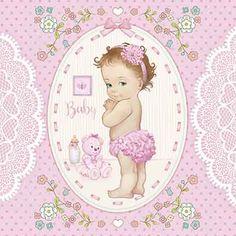 Digital Scrapbook Paper, Mini Scrapbook Albums, Baby Cards, Kids Cards, Paint Stirrers, Baby Shower Labels, Craft Images, Baby Clip Art, Flower Letters