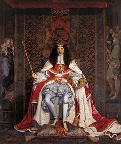 Charles II in Coronation Robes, by John Michael Wright (1661-6)
