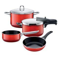 Silit - Energy Red Homemaker Set 4pce