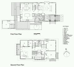 Tweak a bit for 2-3 rooms along the length of ground floor, staircase divided by floor to 2nd floor length bookcase