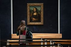 Visitors already in Europe can see the Mona Lisa at a social distance from others, making one of the world's most popular sights a crowd-free adventure.