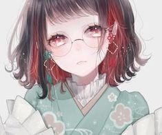 anime, art, and blush image