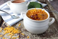 Bacon Cheeseburger Soup Shared on https://www.facebook.com/LowCarbZen | #LowCarb #Soup #Lunch #Dinner