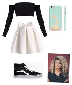 """Untitled #11"" by marielus on Polyvore featuring Chicwish and Vans"