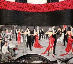 Handmade tote OC High School of the Arts OShop. Music and ballroom dance cruise ship