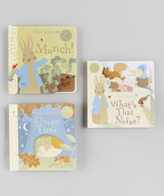 Peter Rabbit Board Book Set