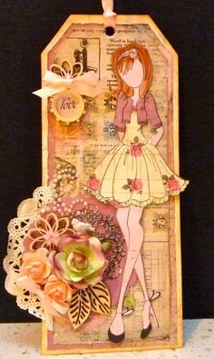 Prima Doll Tag by hey there