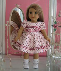 18 inch American Girl Doll Dressy Dress by MenaBella on Etsy, $21.95