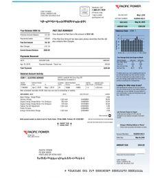Utility Bill, Pacific Power Drivers License California, Santander Bank, Duke Energy, Gas Bill, Utility Bill, Power Bill, Psd Templates, Physics, Store