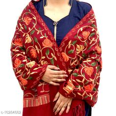 Shawls WOOLEN STOLES Fabric: Wool Multipack: 1 Sizes:  Free Size (Length Size: 2.2 m)  Country of Origin: India Sizes Available: Free Size   Catalog Rating: ★4.5 (852)  Catalog Name: Elegant Stylish Women Shawls CatalogID_3242393 C74-SC1011 Code: 174-16284882-3711