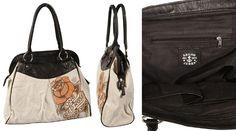 One Red Rose Satchel by Sailor Jerry