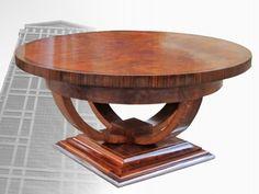 artdecofurniture art deco round coffee table art deco decor art deco style furniture occasional coffee