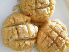 しっとり生おからのケーキ風メロンパンの画像