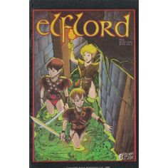 ELFLORD #4   $2.40   1986   VOLUME 1   AIRCEL   COMIC BOOK