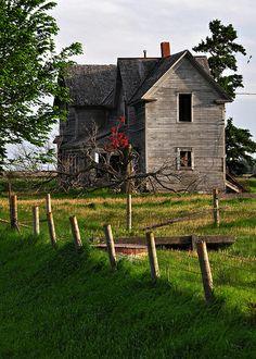 Iowa Farm House