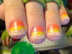 Glow in the Dark Nail Polish in a pinch with PLAID® Paints