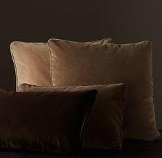 Velvet Medallion & Vintage Velvet Pillow Collection | Restoration Hardware