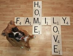 We make custom carved Scrabble letters to hang on your walls. You can have all…