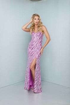 Signature by Landa G903 Sequin Pageant Dress