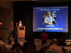 Awesome, our Friend and Brother Todd Soard, president of Emergency Educational Institute in Coral Springs Florida. USA  @EmergencyEducationalInstitute Has been awarded by the Florida Department of Health Bureau of EMS Oversight the 2016 EMS Educator of the Year. Congratulations brother By Dr. Ramon Reyes Diaz, MD EMS España / Emergency Medical Services en España  @EMSESP Follow me / INVITA A TUS AMIGOS A SEGUIRNOS https://www.facebook.com/drramonreyesdiaz @drramonreyesdiaz