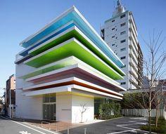 Japan's Sugamo Shinkin Bank by Emmanuelle Moureaux Architecture + Design