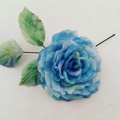 Rosas en azul, uno de los colores de la nueva temporada.