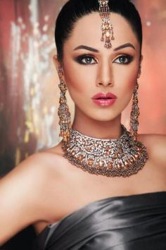 Latest Bridal Jeweller Photo Shoot Collection 2013 with Ayyan Ali