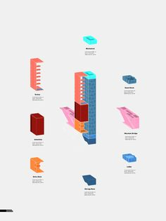 Mountain Lodge Diagrams and Elevations Architecture Module, System Architecture Diagram, Evolution Architecture, Bjarke Ingels Architecture, Collage Architecture, Site Analysis Architecture, Conceptual Architecture, Architecture Design, Plans Architecture