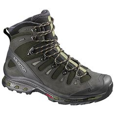 Salomon Men's Quest 4D 2 GTX Boot (Grey/Asphalt/Titanium-9.5) with Free 70 Lumen >>> Find out more about the great product at the image link.