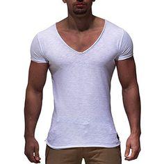 friendGG M/änner Octopus Digital Print Rundhals T-Shirt Top,Sweatshirt Herren Herren Solid V Neck Langarm T-Shirt Top Slim Bluse Langarmshirt Rundhals Classics Herren T-Shirt