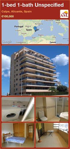 1-bed 1-bath Unspecified in Calpe, Alicante, Spain ►€100,000 #PropertyForSaleInSpain