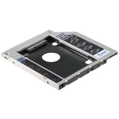 9.5mm Universal SATA 2nd HDD SSD Hard Drive Caddy For CD DVD-ROM Optical Bay  T18 0.15 #Affiliate