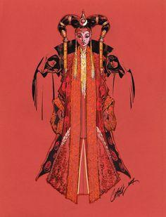 Queen Amidala TALL color by J-Scott-Campbell on DeviantArt Reina Amidala, Queen Amidala, Amidala Star Wars, Star Wars Padme, J Scott Campbell, Comic Book Artists, Comic Artist, Comic Books, Art Magique