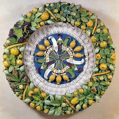 Della Robbia Fruit Wreath, c. 1515