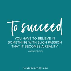 Success comes from passion & hard work to create a new reality. Dauntless Quotes, Great Inspirational Quotes, Make Business, Hard Work, How To Become, Success, Passion, Digital, Create