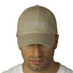 Grampy Embroidered Baseball Cap