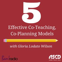 Co-teaching can be very effective when done well. Listen to this short podcast for some models that work. Team Teaching, Teaching Plan, Teaching Resources, Classroom Resources, Classroom Ideas, Instructional Coaching, Instructional Design, Middle School Classroom, Special Education Classroom