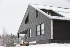 Slik fikk familien arkitekttegnet bolig nær Oslo til fem millioner - Aftenposten